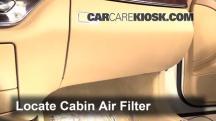 2010 Mercedes-Benz S400 Hybrid 3.5L V6 Filtro de aire (interior)