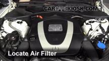 2010 Mercedes-Benz S400 Hybrid 3.5L V6 Filtro de aire (motor)
