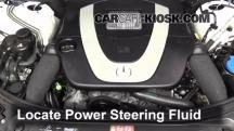2010 Mercedes-Benz S400 Hybrid 3.5L V6 Power Steering Fluid