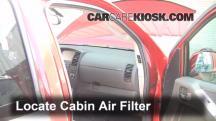 2010 Nissan Pathfinder SE 4.0L V6 Air Filter (Cabin)