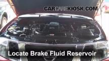 2010 Nissan Pathfinder SE 4.0L V6 Brake Fluid