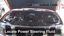 2010 Nissan Pathfinder SE 4.0L V6 Power Steering Fluid