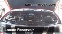 2010 Nissan Pathfinder SE 4.0L V6 Windshield Washer Fluid