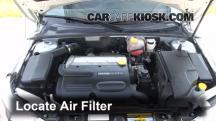 2010 Saab 9-3 2.0T 2.0L 4 Cyl. Turbo Sedan Air Filter (Engine)