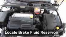 2010 Saab 9-3 2.0T 2.0L 4 Cyl. Turbo Sedan Brake Fluid
