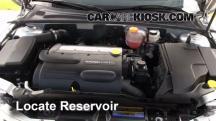 2010 Saab 9-3 2.0T 2.0L 4 Cyl. Turbo Sedan Windshield Washer Fluid