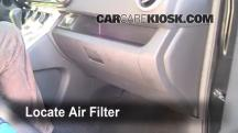 2010 Scion xB 2.4L 4 Cyl. Filtro de aire (interior)