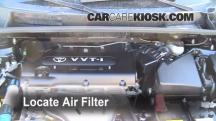 2010 Scion xB 2.4L 4 Cyl. Air Filter (Engine)