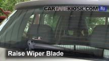 2010 Skoda Fabia S 1.2L 3 Cyl. Windshield Wiper Blade (Rear)
