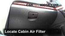 2010 Subaru Legacy 3.6R Limited 3.6L 6 Cyl. Filtro de aire (interior)