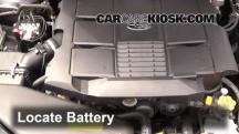 2010 Subaru Legacy 3.6R Limited 3.6L 6 Cyl. Batería