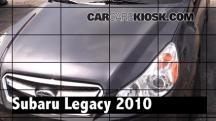 2010 Subaru Legacy 3.6R Limited 3.6L 6 Cyl. Review