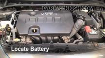 2010 Toyota Corolla S 1.8L 4 Cyl. Battery