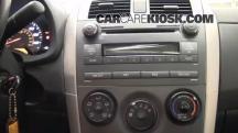 2010 Toyota Corolla S 1.8L 4 Cyl. Clock