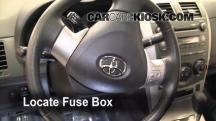 2010 Toyota Corolla S 1.8L 4 Cyl. Fuse (Interior)