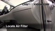 2010 Toyota Prius 1.8L 4 Cyl. Filtro de aire (interior)