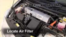2010 Toyota Prius 1.8L 4 Cyl. Filtro de aire (motor)