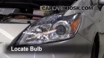 2010 Toyota Prius 1.8L 4 Cyl. Luces