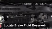 2010 Toyota RAV4 Limited 3.5L V6 Brake Fluid