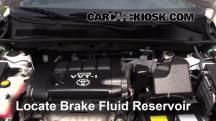 2010 Toyota RAV4 Sport 2.5L 4 Cyl. Brake Fluid