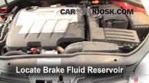 2010 Volkswagen Jetta TDI 2.0L 4 Cyl. Turbo Diesel Sedan Brake Fluid