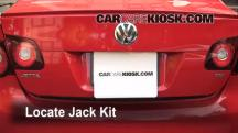 2010 Volkswagen Jetta TDI 2.0L 4 Cyl. Turbo Diesel Sedan Jack Up Car