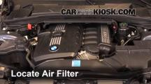 2011 BMW 128i 3.0L 6 Cyl. Coupe Filtro de aire (motor)