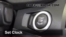 2011 BMW X3 xDrive28i 3.0L 6 Cyl. Clock
