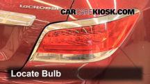 2011 Buick LaCrosse CX 2.4L 4 Cyl. Lights