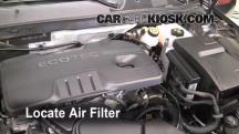 2011 Buick Regal CXL 2.4L 4 Cyl. Filtro de aire (motor)