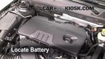 2011 Buick Regal CXL 2.4L 4 Cyl. Battery