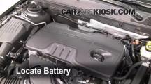 2011 Buick Regal CXL 2.4L 4 Cyl. Batería