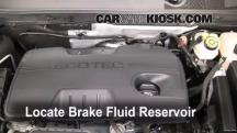 2011 Buick Regal CXL 2.4L 4 Cyl. Líquido de frenos