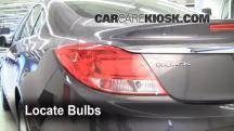 2011 Buick Regal CXL 2.4L 4 Cyl. Luces