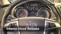 2011 Buick Regal CXL 2.4L 4 Cyl. Capó