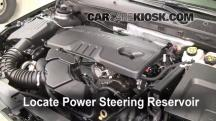 2011 Buick Regal CXL 2.4L 4 Cyl. Power Steering Fluid