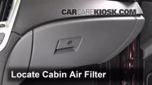 2011 Cadillac SRX 3.0L V6 Filtro de aire (interior)