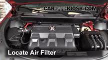 2011 Cadillac SRX 3.0L V6 Filtro de aire (motor)