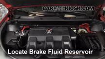 2011 Cadillac SRX 3.0L V6 Líquido de frenos