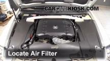 2011 Cadillac STS 3.6L V6 Air Filter (Engine)