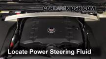 2011 Cadillac STS 3.6L V6 Power Steering Fluid