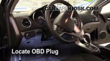 2011 Chevrolet Cruze LT 1.4L 4 Cyl. Turbo Compruebe la luz del motor