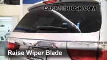 2011 Dodge Durango Crew 3.6L V6 FlexFuel Windshield Wiper Blade (Rear)