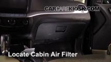 2011 Dodge Journey Mainstreet 3.6L V6 FlexFuel Filtro de aire (interior)