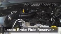 2011 Dodge Nitro Heat 3.7L V6 Brake Fluid