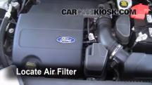 2011 Ford Explorer XLT 3.5L V6 Filtro de aire (motor)