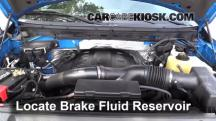 2011 Ford F-150 XLT 3.5L V6 Turbo Crew Cab Pickup Brake Fluid