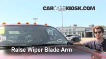 2011 Ford F-250 Super Duty XLT 6.2L V8 FlexFuel Standard Cab Pickup Windshield Wiper Blade (Front)