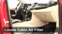 2011 Ford Fiesta SE 1.6L 4 Cyl. Sedan Filtro de aire (interior)