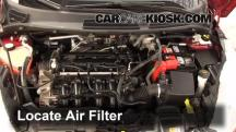 2011 Ford Fiesta SE 1.6L 4 Cyl. Sedan Air Filter (Engine)